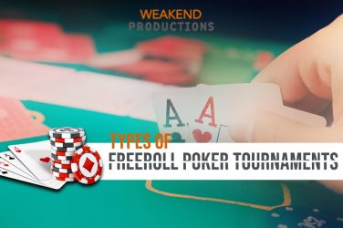 Types Of Freeroll Poker Tournaments